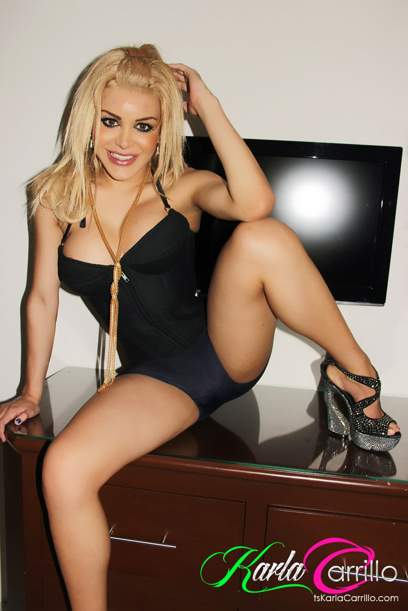 Gorgeous Blonde Shemale 31